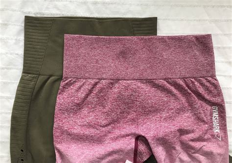honest review  gymshark energy seamless  ombre