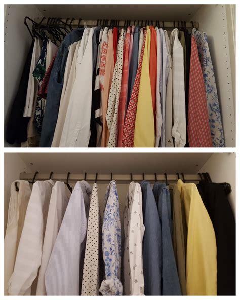 minimalistisch wohnen vorher nachher chaos im kleiderschrank