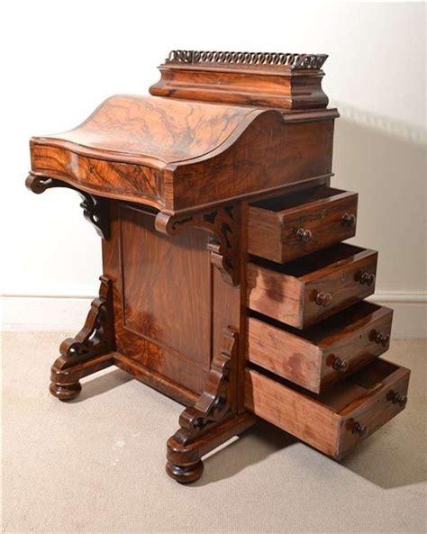 Antique Davenport Desk by Antique Burr Walnut Davenport Desk At 1stdibs