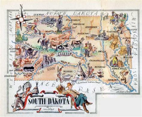 dakota travel map south dakota travel map arkansas map