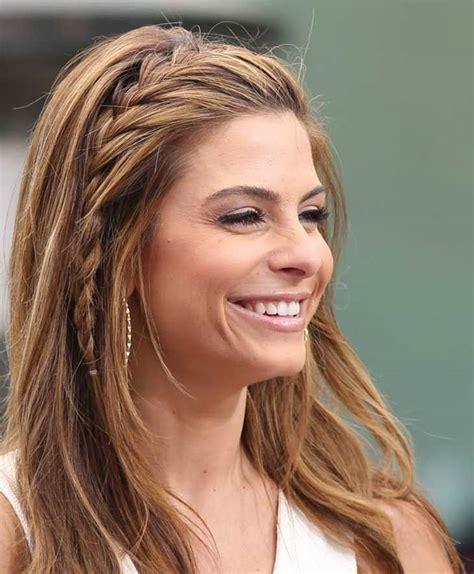 hair style with bang with long back penteados com tran 231 a para o ver 227 o claudinha stoco blog