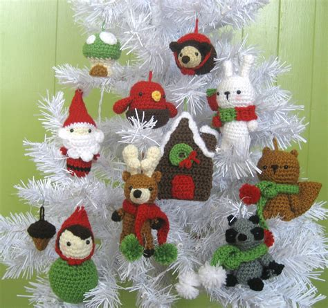 christmas decoration crochet patterns ideas christmas