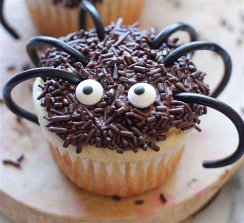 decorar cup cakes faciles cupcakes de halloween faciles