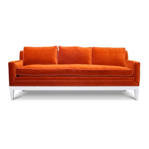 big orange couch 77 best images about sofas n chairs on pinterest