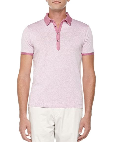 Polos Medium Pink hugo knit polo medium pink