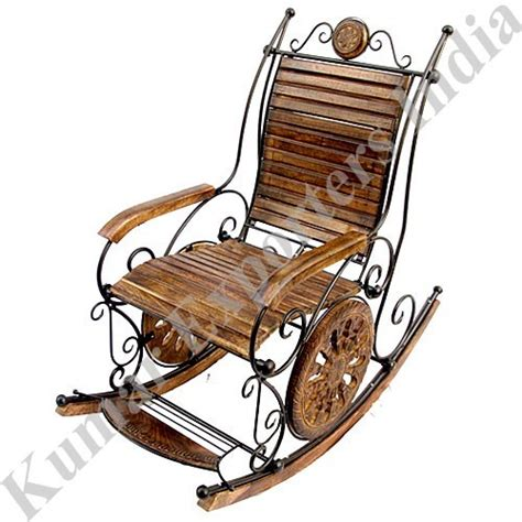 Iron Rocking Chair by Wrought Iron Rocking Chairs In East Of Kailash New Delhi