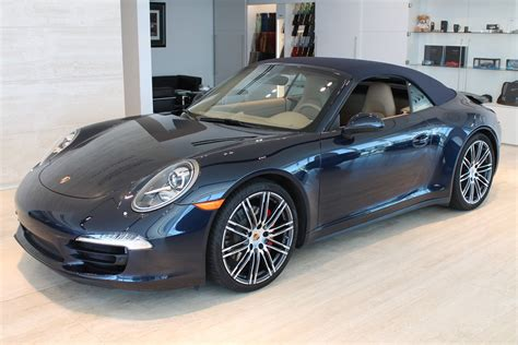 Porsche 911 Carrera 4s Convertible For Sale by Used 2016 Porsche 911 Carrera 4s Cabriolet Roslyn Ny