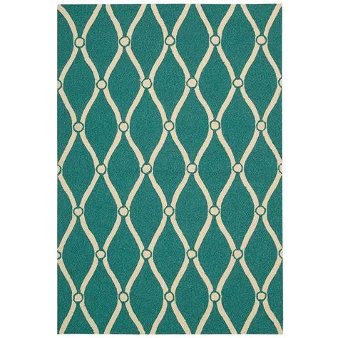 indoor outdoor rugs 8 x 10 nourison portico aqua 8 ft x 10 ft 6 in indoor outdoor area rug 217332 the home depot