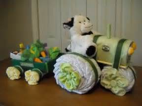 How To Make A Bathtub Diaper Cake John Deere Tractor And Wagon Diaper Cake By Shelvasdiapercakes