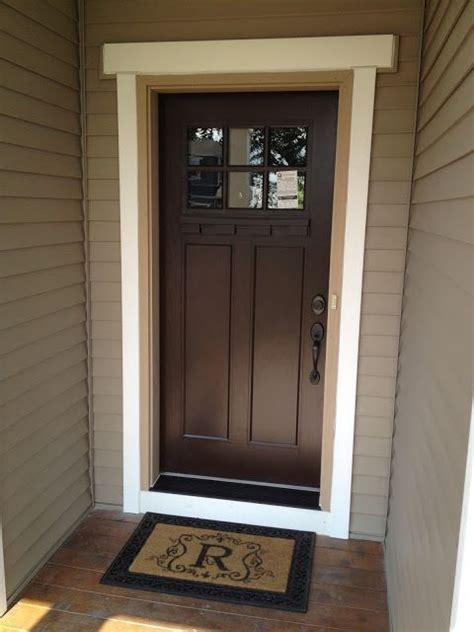 front door house exterior fiberglass front door