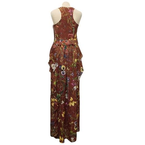 Maxi Dress Gucci gucci floral maxi dress for sale at 1stdibs