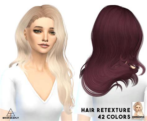 sims 4 cc hair retextures my sims 4 blog sintiklia hair retexture by missparaply