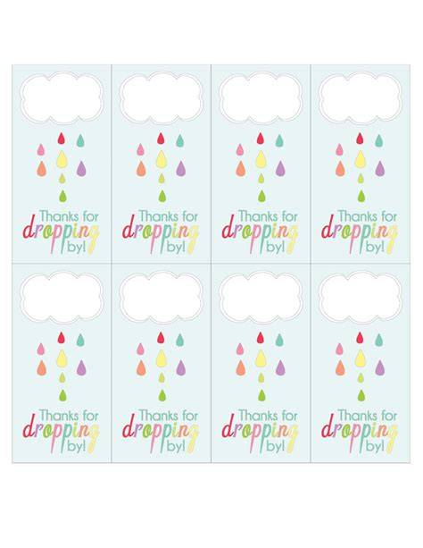 printable baby shower free april showers party printables love every detail