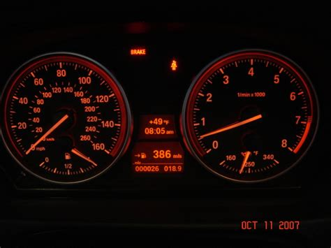 bmw dashboard at night picture request e92 dash at night
