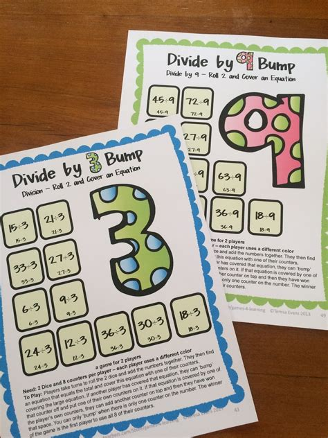 printable math board games 6th grade math board games for 3rd graders third 3rd grade math