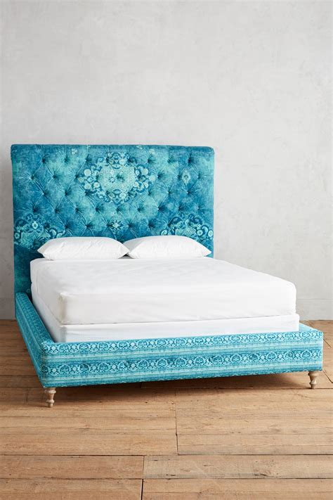 turquoise bed teal rug printed orianna bed everything turquoise