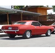 1970 Plymouth Cuda  Red Rear Angle 1152x864 Wallpaper