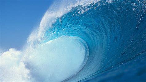 wallpaper blue wave sea waves background wallpaper 1920x1080 82706