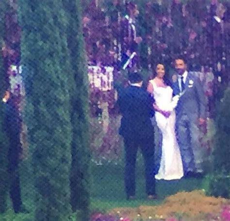 Longorias Wedding The Official Photos by Longoria Gets Married Arabia Weddings