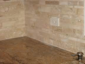Kitchen Backsplash Travertine by Travertine Backsplash Pictures To Pin On Pinterest