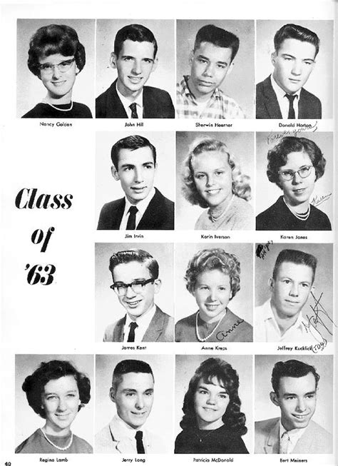 1962 Fledgling Yearbook - Class of 1963: Pages 37 to 42