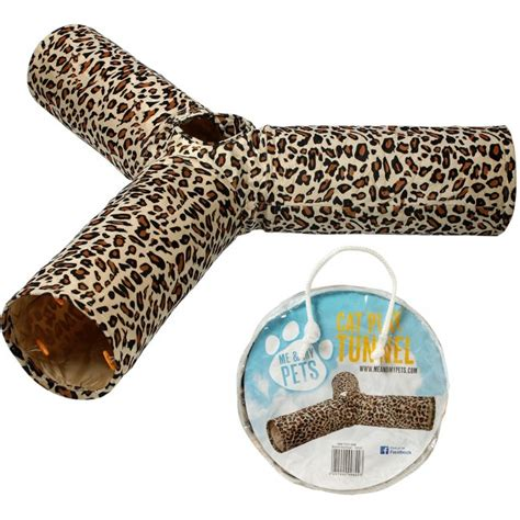 Mendess Of Leopard Print Or Snooze Y by Cat Play Tunnel Leopard Print 3 Way Me My Pets
