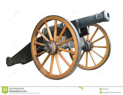 old artillery cannon royalty free stock photography