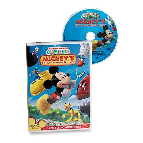 Home Baby Spa Dvd Galeniamcc disney s mickey mouse clubhouse mickey s great clubhouse hunt dvd bed bath beyond