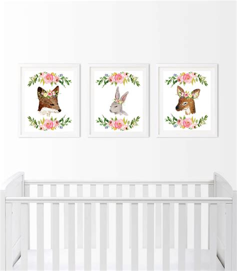 Deer Nursery Decor Palmyralibrary Org Woodland Decor Nursery