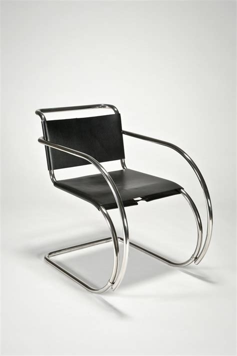 mr armchair the modern archive mr armchair by ludwig mies van der rohe
