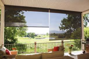 exterior solar shades oasis series tropical patio