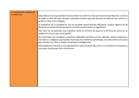libro analisis de textos en ficha evaluaci 243 n de un libro de texto
