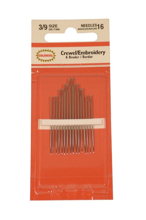 tattoo needle assortment pack school specialty embroidery and crewel needle assortment
