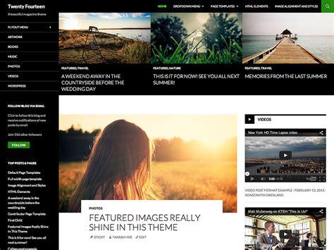 layout homepage wordpress theme homepage