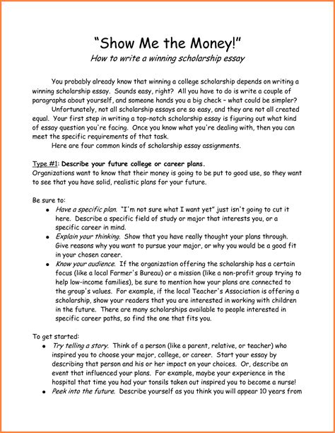 Essay Exles About Yourself by 6 Scholarship Essay Exles About Yourself Sales Report Template