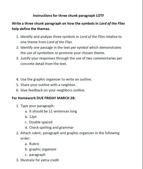 Lord Of The Flies Essay Topics by Lord Of The Flies Essay Topics