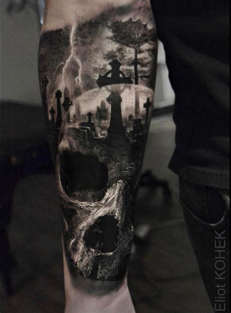 tattoodotcom inkoftheday by eliot kohek blackandgray