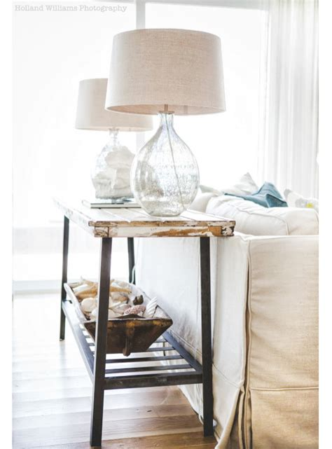 Before And After Photos The Lettered Cottage Cottage Sofa Table