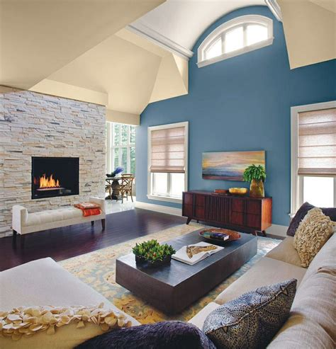 accent wall in living room blue accent wall in living room new home ideas