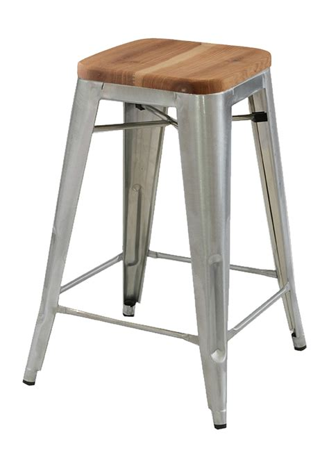 Replica Xavier Pauchard Stool by Replica Xavier Pauchard Stool Wood Seat 75cm