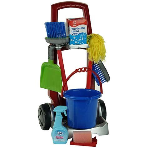 St Kid Mijean Bahan Wash 50 theo klein cleaning trolley play set walmart