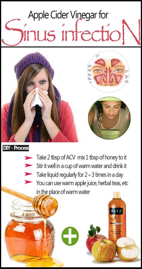 Detoxing Sinus by Apple Cider Vinegar For Sinus Infection Detox