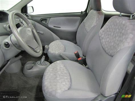 Gray Interior Paint Shadow Gray Interior 2002 Toyota Echo Sedan Photo