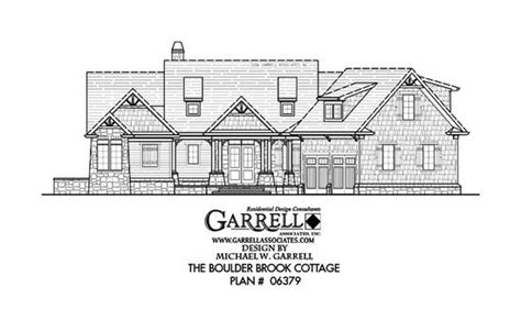 normandy style house plans part 1 by garrell associates boulder brook cottage house plan house plans by garrell