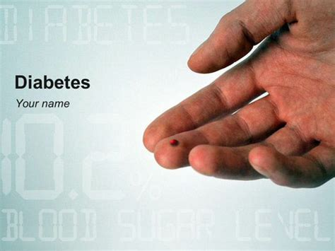 Templates Powerpoint Diabetes | diabetes powerpoint template