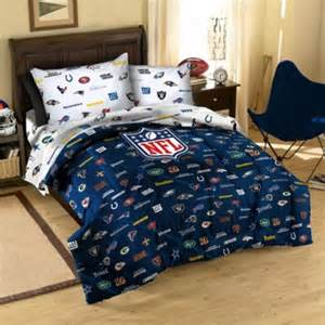 buy nfl team logo full comforter from bed bath beyond