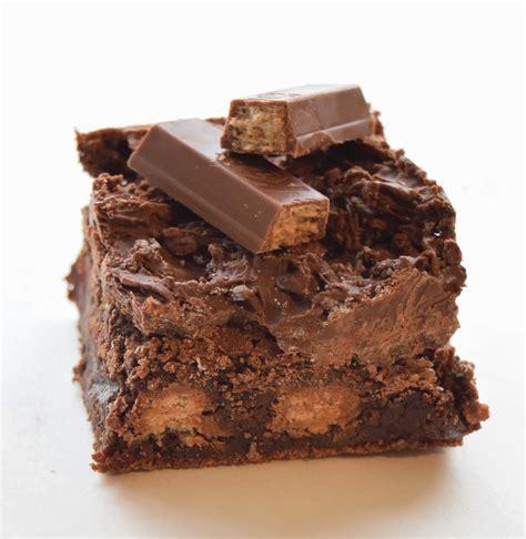Kitkat Brownie gimme a brownie kitkat brownies