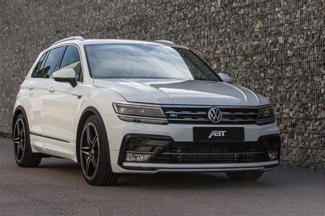 volkswagen tdi 2017 abt reveals first 2017 vw tiguan tuning tdi power and