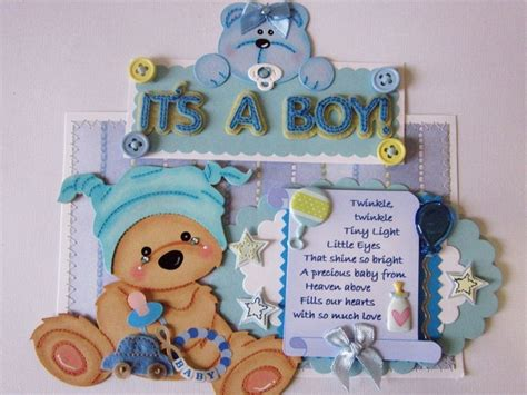 Handmade Baby Scrapbook Ideas - 441 best baby showers images on cards tags