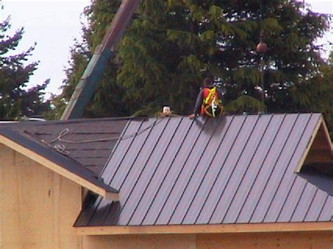 how to install a metal roof on a house how to install metal roofing